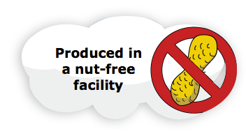 Produced in a nut free facility